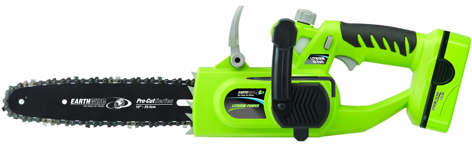 Earthwise LCS31010 Cordless Lithium Ion Chainsaw Review ...