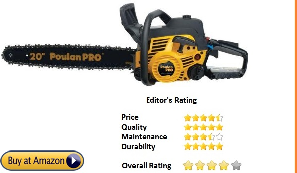 poulan pro best chainsaw